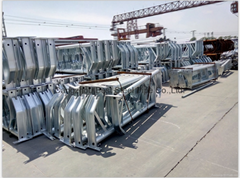 Hot dipped galvanize steel pipe and structures