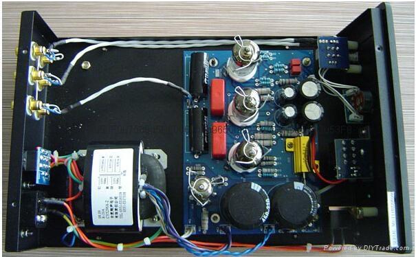 XiangSheng 708B Vacuum Tube Hi-end Tube Headphone Pre-Amplifier BK 110v-230v 3