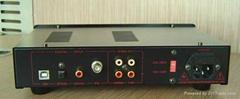 HIFI翔声DAC-02A解码器 DIR9001 AD1955 USB 同轴光纤耳放