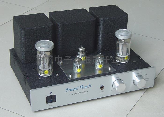 HIFI Sweet Peach KT88 Tube Amplifier 1