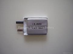 452533_300mAh li-polymer battery cell for Mp3
