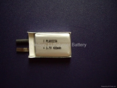 602236_400mAh li-polymer battery cell for Mp3