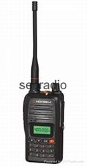HONGDA HD-V82 UHF 400-470MHz 199CH FM Radio LCD Display walkie talkie