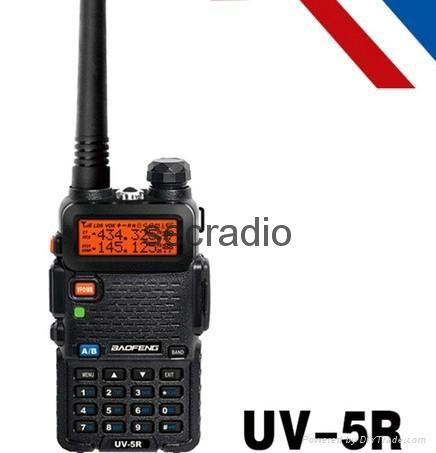 Cheap price Dual Band Two Way Radio Baofeng BF-UV5R walkie talkie 1