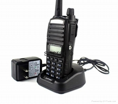 FM Ham Two-way Radio Baofeng BF-UV82 Dual-Band 136-174/400-520 MHz Walkie-talkie