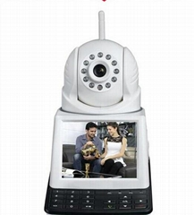 HD Wifi network video phone Camera security camera