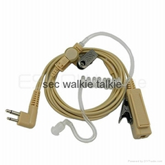 2 Pin Covert Acoustic Tube Earpiece for Motorola GP88 GP300 GP2000 P040 PRO1150