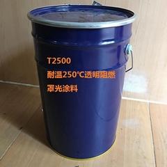 Transparent acrylic fire retardant hood optical coatings
