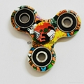 Hot Tri-Spinner Fidget Toy Plastic Stress Wheel EDC Anti-Stress Hand Spinner Han