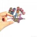 Titanium alloy Tri-Spinner Fidget Hand Spinner Triangle Torqbar  Finger toys  2