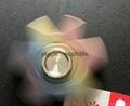 Titanium alloy Tri-Spinner Fidget Hand Spinner Triangle Torqbar  Finger toys