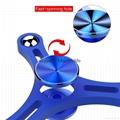 2017 New Design Spinner Fidget Hot Sale Hand Spinner Anti Stress Tri Hand fidget
