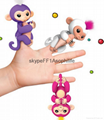 fingerlings baby monkey  kids fidget  toy fingerlings handy money with sound