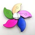 Redbud aluminum fidget spinners flower style hand spinners