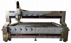 Waterjet cutting machine five axis waterjet
