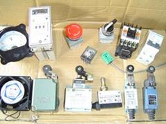 时间继电器、中间继电器、交流接