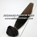 Remy clip hair extension 4