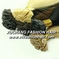 Keratine hair extensions