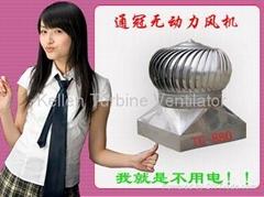 600型880型氟碳塗層無動力風機