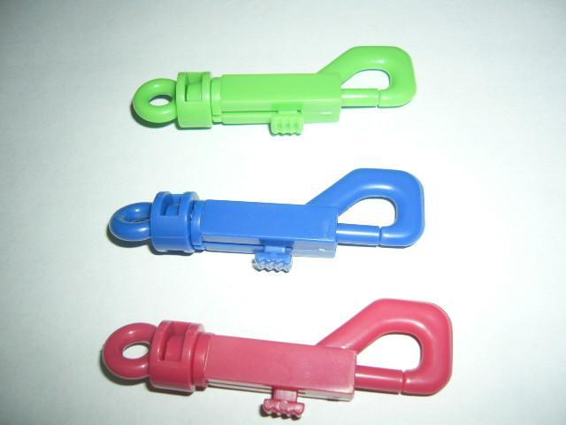 塑料狗扣弹簧钥匙扣 4