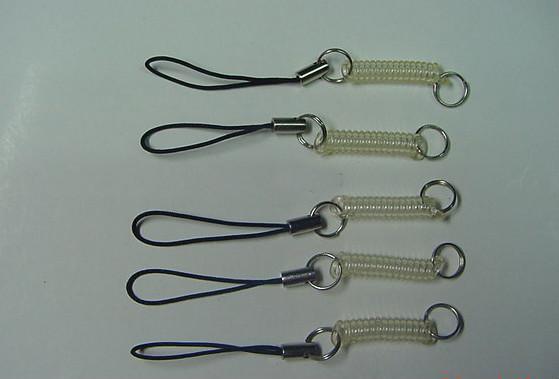 塑料彈簧手機挂繩 4