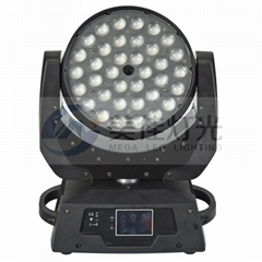 36 x 18w 6in1 RGBWAUV LED zoom moving head light price