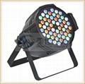 54 x 3w rgbwa par led par can stage light LED par 64