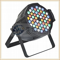 54 x 3w rgbwa par led par can stage light LED par 64