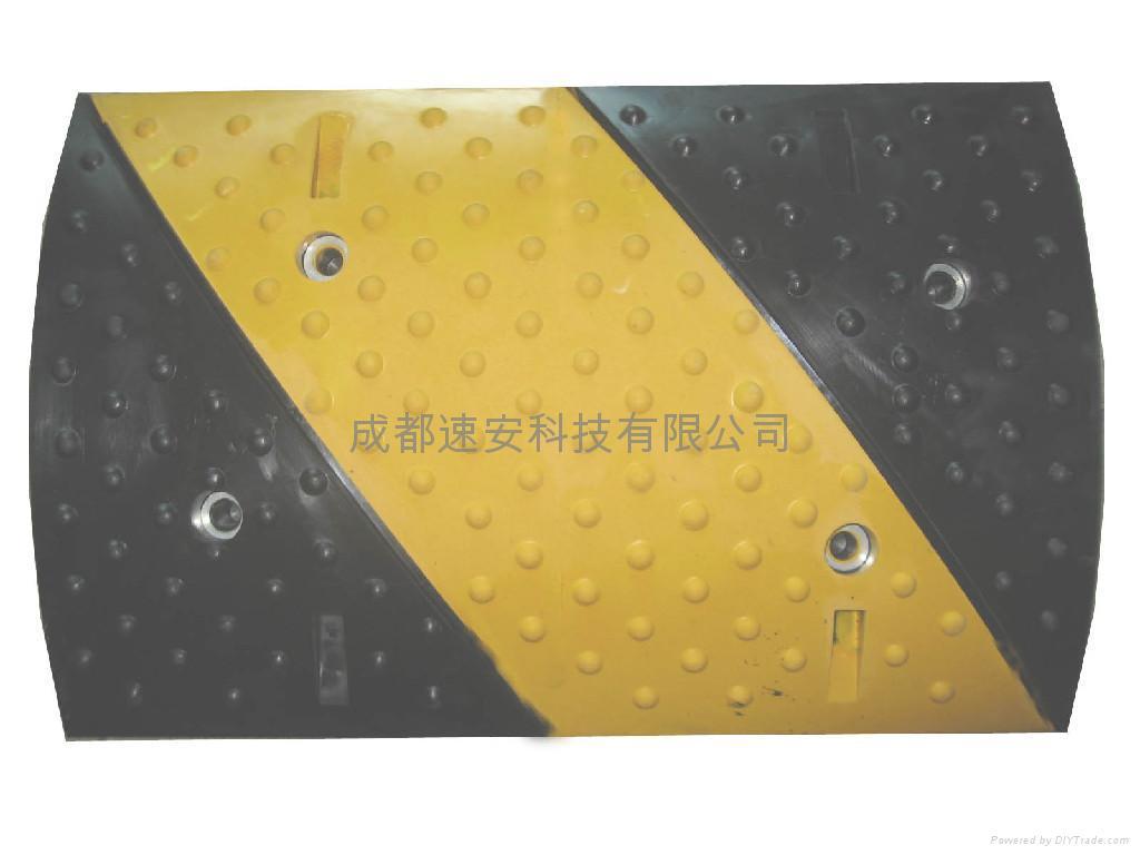 成都橡膠鑄鋼材料減速帶 4