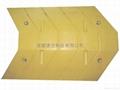成都大圆弧型橡胶铸钢材料减速带 2
