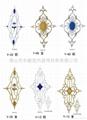 中空门浮雕花  3