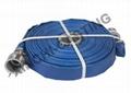 PVC蓝色水带总成