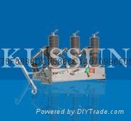 ZW32-12型户外高压真空断路器 1