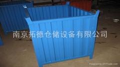 供应钢料箱铁箱产品专用箱金属周转箱