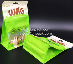 Block Bottom Matte Surface Dog Food Bags