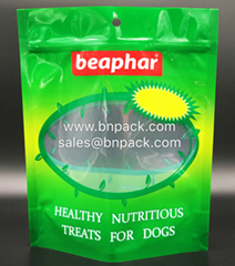 BOPA-NY-PE Stand Up Pet Food Bags