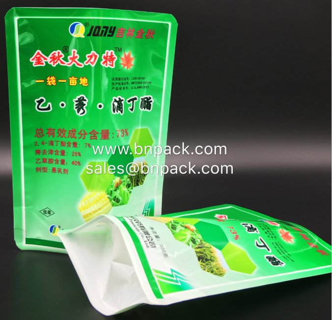 Doypack Pouch For Pesticides Packing 4