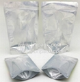 Clear-Silver Doypack Ziplock Pouch