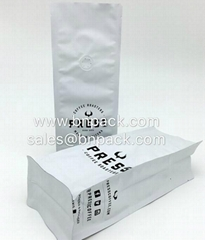 Matte Vanish Block Bottom Coffee Packing Bags