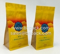 Aluminum Foil Lined Craft Paper Bags For Coffee Packing 9
