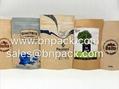 Custom Doypack Kraft Paper Pouch