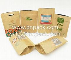Doypack Craft Paper Food Bag
