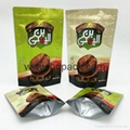 custom logo foil stand up ziplock pouch for dried nuts 4
