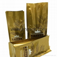 factory hot sales three-layer laminated aluminum foil coffee bag