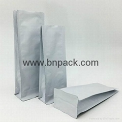 Wholesale high quality laminated aluminum foil stand up ziplock pouch for chips