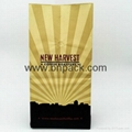 white kraft paper bag four side sealed