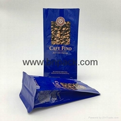 2016 New design wholesale roasted coffee bean packaging bag