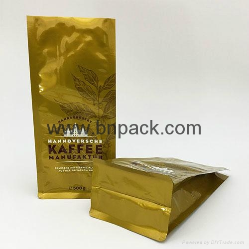 2016 New design wholesale roasted coffee bean packaging bag 4