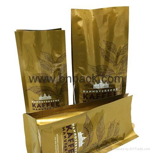 250g high quality side gusset coffee bag 3