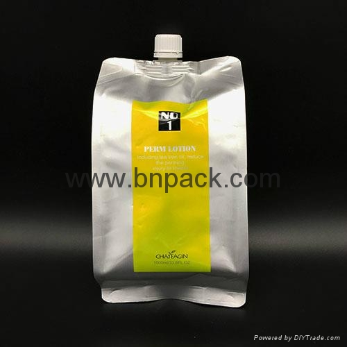 custom spout pouch 8oz 12oz 16oz packaging bag for liquid drink plastic bag 5